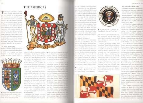 The Americas - Complete Book of Heraldry - Stephen Slater