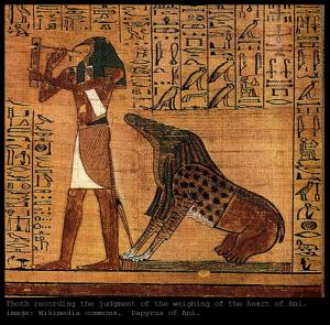 Thoth papyrus of ani