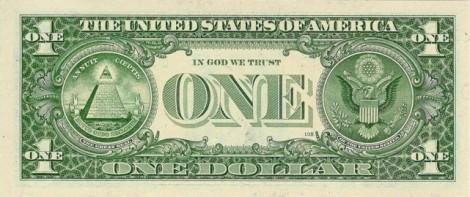 United States of America 1 Dollar - 1999 Back