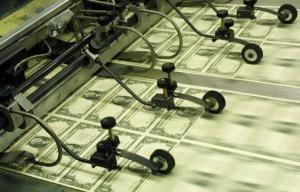 dollar bills print