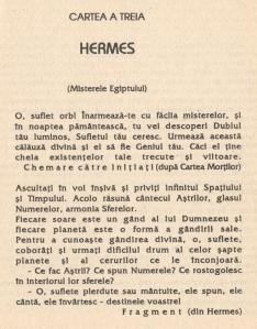 Hermes - Misterele Egiptului