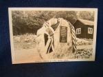 Roosevelt Memorial Birch Island Canada 1940s postcard