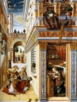 Annunciation by Carlo Crivelli 1486