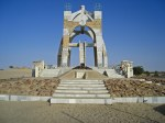 Flamme de la Paix - Monument of Peace - Timbuktu - Tombouctou - Mali