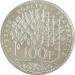 FRANTA 1 - 100 franci 1982