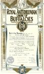 Royal Antediluvian Order of Buffaloes 1944