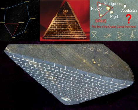 Sirius - The Pyramid with Eye - The Son of the Creator Comes from Here