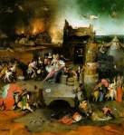 Temptation of Saint Anthony - Hieronymus Bosch 1453-1516