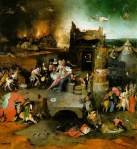 Temptation of Saint Anthony - Hieronymus Bosch 1453-1516