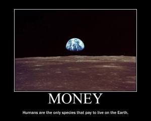Money on Earth