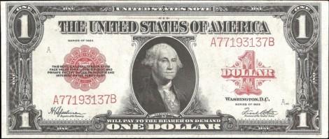 One Dollar 1923