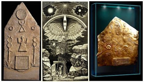 Moon-Goddess Tanit - Sirius - Inca Gold Map