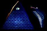 Pyramid Eye Black Light