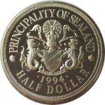 Sealand Island half dollar 1994