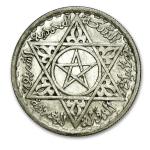 Maroc 100 francs 1953