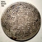 Nepal Mohar 1900