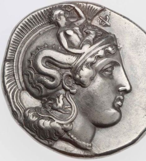Distater of Thourioi, Lucania, with head of Athena