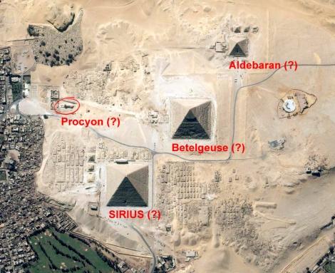 Great Pyramids - Sirius Betelgeuse Aldebaran